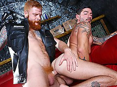 Bennett Anthony & Johnny Hazzard in Men Of Anarchy Part 2 - DrillMyHole