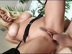 blonde big tits mom knows how to handle hot h