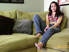 Sable Renae in Interview Movie - AuntJudys