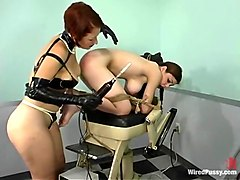 Mallory Knots and Sonya in Wiredpussy Video