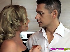 Dominant wife celebrates�anniversary