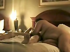 amazing bbw fuck friend gives hot blowjob and we fuck on my bed