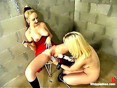 Chanta-Rose and Cowgirl in Whippedass Video
