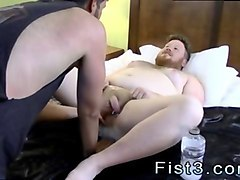 fisting older gay sky works brocks hole with his fist