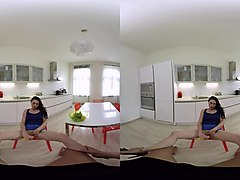 vr bangers-kirschley swoon kitchen fuck and blowjob