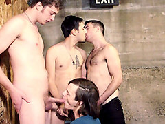 Eat My Cum Faggot Scene 3 - Bromo