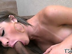 hard ass-fucking scene excites tranny angel to maximum