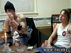 cigarette smoking twinks start rubbing their rods together