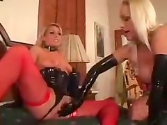 Nikki hunter and chelsea zinn latex threesome